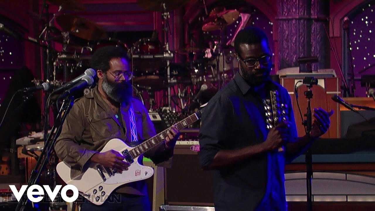 TV On The Radio - Young Liars (Live on Letterman)