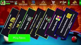 Copie de Rewards Link 8Ball Pool Gifts BOX RARE+SPIN+COINS  // روابط هدايا اليوم في لعبة  8 بال بول