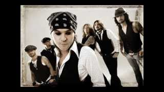The Quireboys - Mona Lisa Smiled (with lyrics)