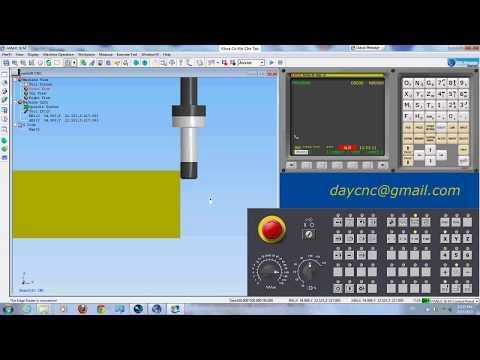 Hướng dẫn set gốc gia công trên máy phay CNC