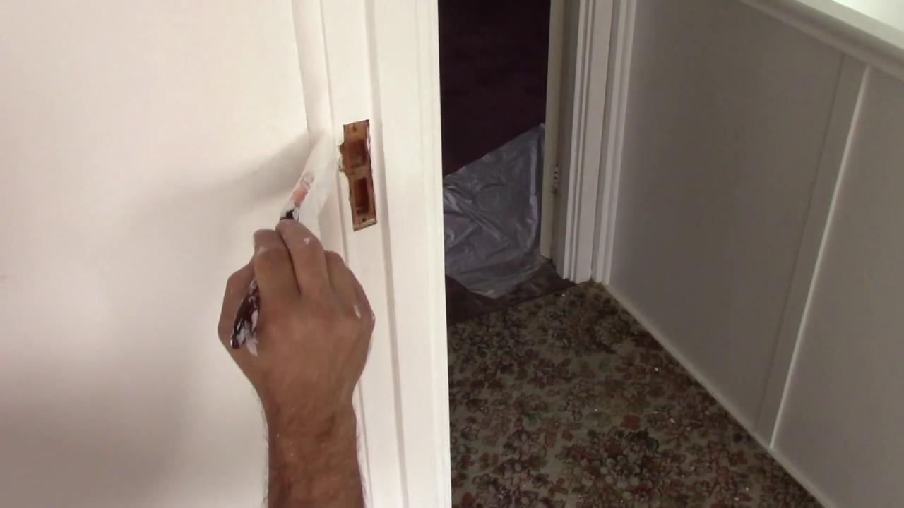 Bon Painting Door Frame. How To Paint Door Frame