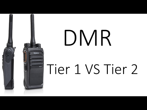 Tier 1 VS Tier 2 DMR. What's the difference?