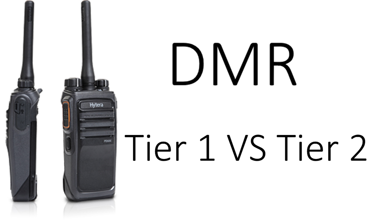 Radiosification: DMR: Tier 1 vs Tier 2