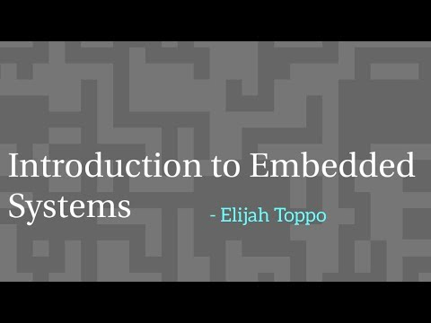 01 Introduction to Embedded Systems