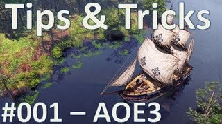 AOE3 - What is Herding? How to Herd - Tips and Tricks #001 with Interjection!