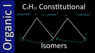 Constitutional Isomers of C5H12 - Organic Chemistry I