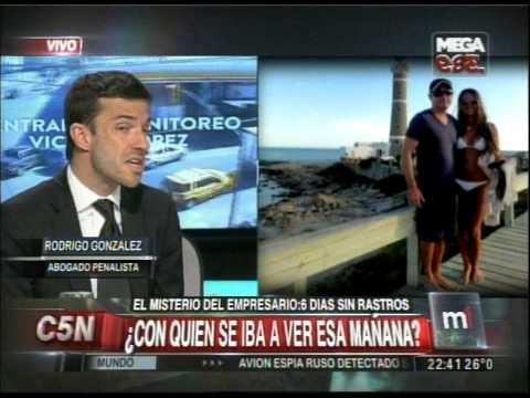 C5N  - MINUTO UNO: MISTERIO DEL EMPRESARIO DESAPARECIDOS