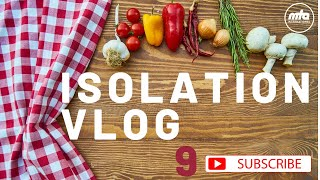 Isolation Vlog 9 │ Hand of Talha, Leila's Paratha & FUN Islamic Game