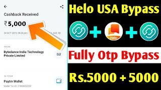 🤑Helo Cash App USA No. Refer Bypass !! Helo Cash Unlimited Trick !