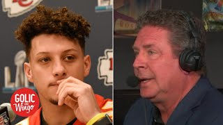 Dan Marino's message to Patrick Mahomes: Take advantage of the opportunity | Golic and Wingo