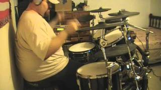 Darkest Hour  Demon(s) drum cover with drumless track by G-Rad