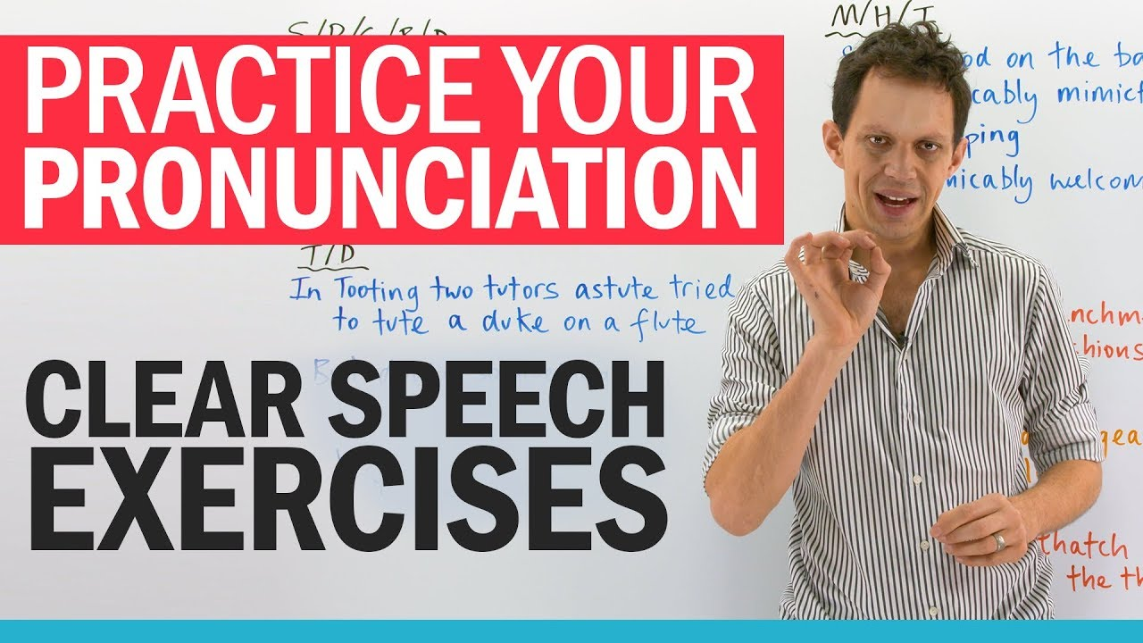 Mouth exercises for CLEAR SPEECH - YouTube