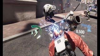 【Robo Recall】撃たれた弾丸を素手で掴むというアニメでは悪役しかできない技であそぶてとら【VR伝道師】