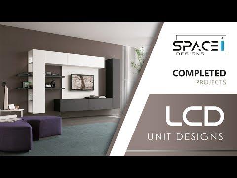 Modern LCD TV Unit Designs | Space Designs Vijayawada | Ph: 9100559689