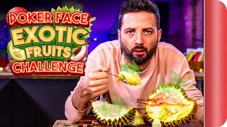 "POKER FACE ""Exotic Fruits & Roots"" Food Challenge 
