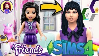 Lego Friends Emma as a Sim! Sims 4 Create a Sim