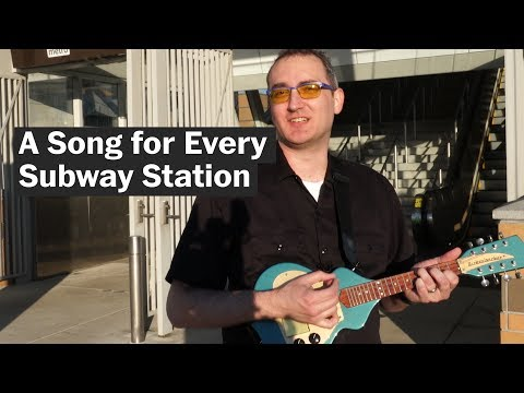 A guy wrote a song for every Washington Metro station. All 91