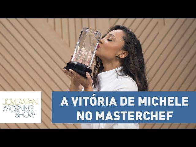 """Vinicius: """"A vitória de Michele no Masterchef foi a vitória da humildade"""""""