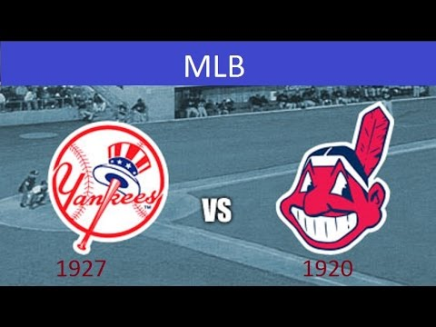 1927 YANKEES VS 1920 INDIANS