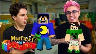 FILHOS DO PAC E MIKE! (Minecraft de Férias) #7