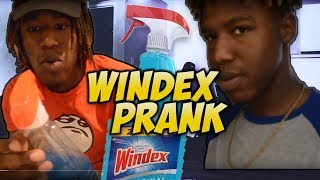 GATORADE IN WINDEX BOTTLE PRANK!