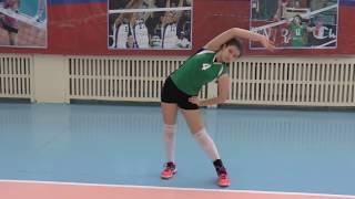 Волейбол обучение. Девушки. Тренировка. Часть 1