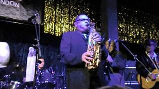 Clevor Trever (sax solo)  - Gilad Atzmon/The Blockheads - Jazz Cafe 15/12/12
