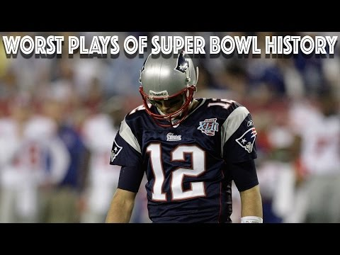 Worst Plays of Super Bowl History | NFL Highlights