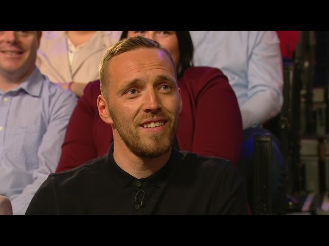 """Does he service the boiler at home?"" 