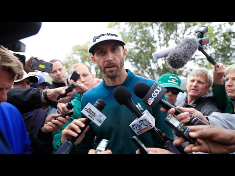 'It sucks': Dustin Johnson on his decision to withdraw from the Masters – video