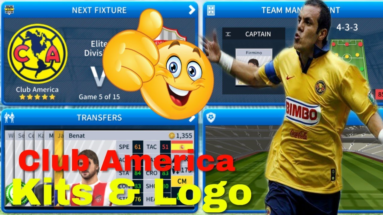 How To Create Club America Team Kits Logo Dream League