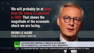 Economic struggles | COVID-19 drags France into recession