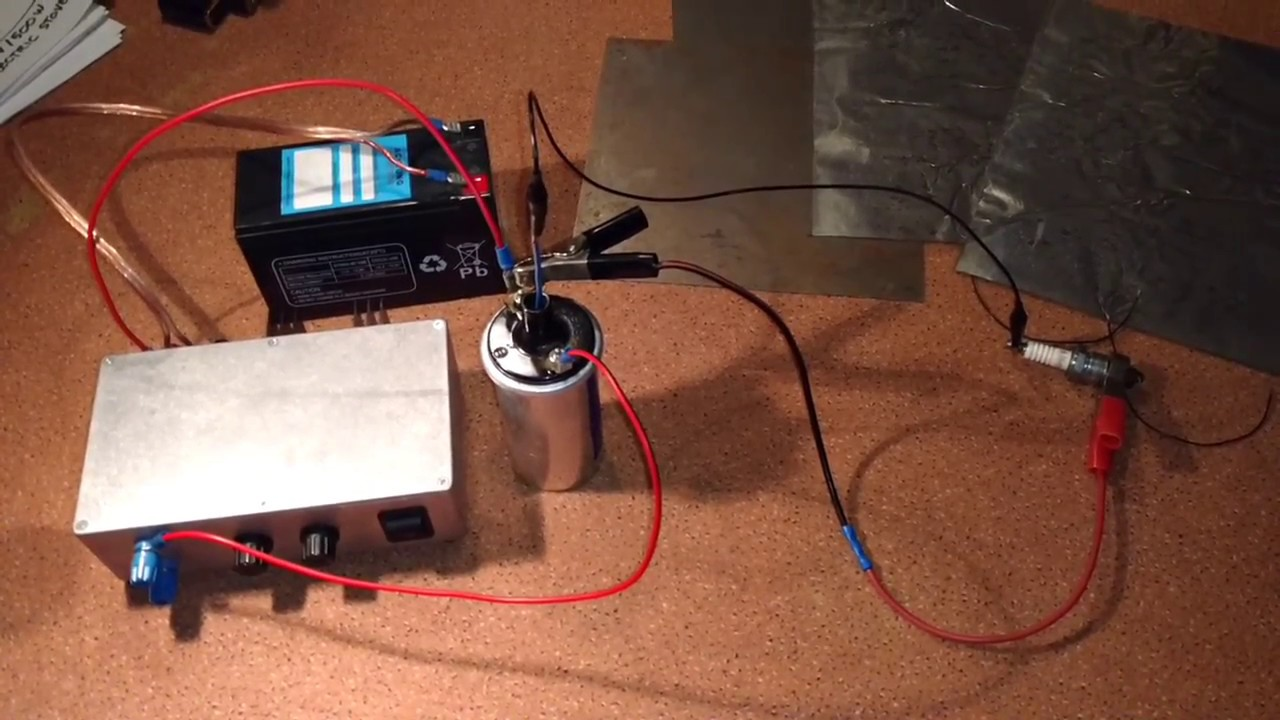 Simple Plasma Ignition - DIY Capacitor