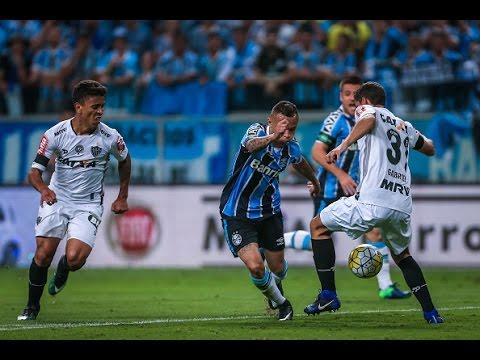 ⚽ Melhores Momentos - Gols de Grêmio 1 x 1 Atlético-MG - Copa do Brasil (08/12/16)