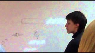 Урок физики в Гимназии 87, Саратов. 9 класс