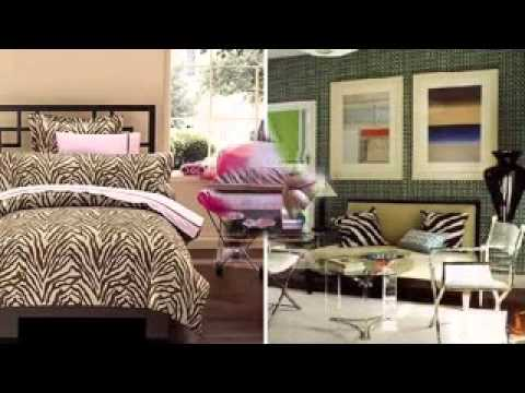 Animal Print Living Room Decorations Ideas