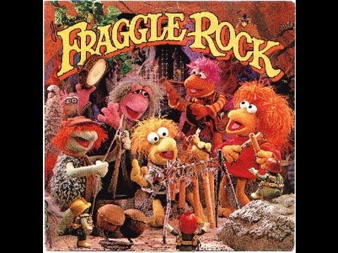 Fraggle Rock opening otheme song - sing along (lyrics)