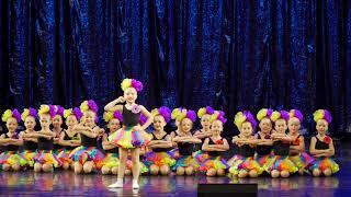 Театр танца ЭХО. Танец   Точка точка запятая. 28 10 2017. Отборочный тур  Юные дарования. UHD 4K