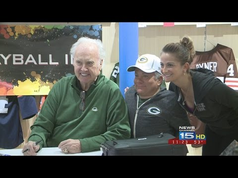 Paul Hornung Visits Fort Wayne