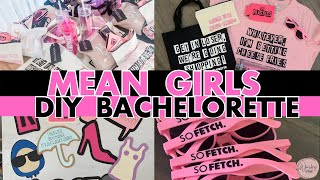 Mean Girls Themed DIYS 💋 Cricut Bachelorette Party DIYS: TONS of crafts you can totally do yourself!