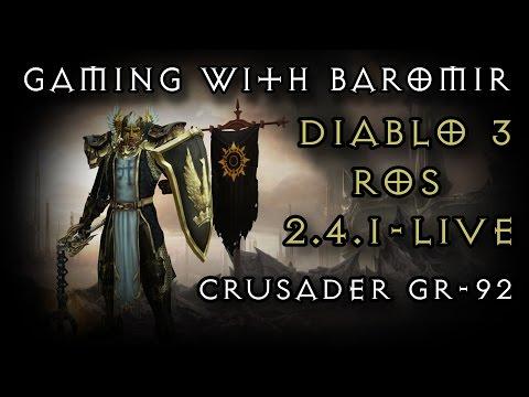 Diablo  Bombardment Crusader Build