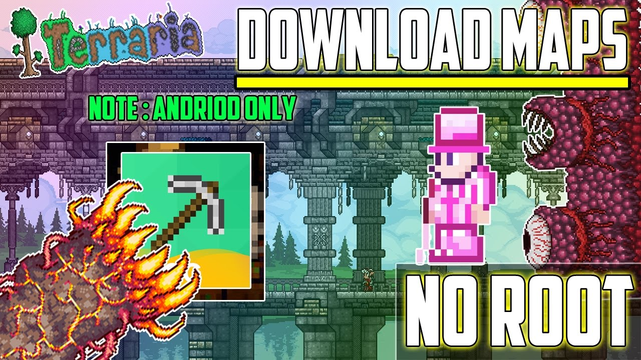 Ios-android] terraria 1. 2. 8 all items world download youtube.