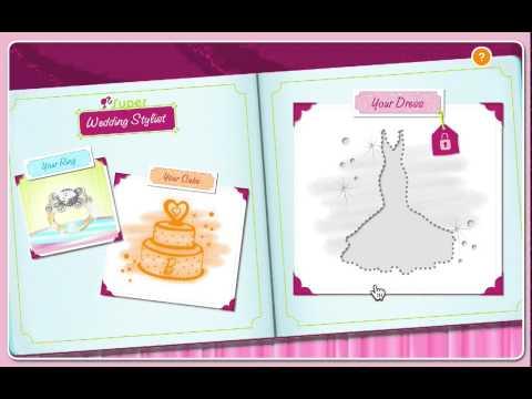 игры барби свадьба одевалки