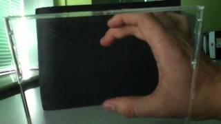 Wie einfache Hologramm mit cd-Hülle n iPad