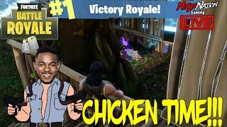 CHUCK NORRIS STYLE HELPING SUBS GET CHICKEN DINNERS ! FORTNITE BATTLE ROYALE ☯ SUB 4 LUCK ☯