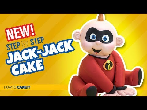 How To Make A Jack Jack Cake by Asma Qureshi   The Incredibles   How To Cake It Step By Step