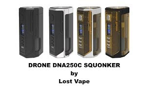 Drone DNA250C Squonker by Lost Vape
