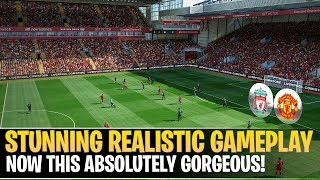 [TTB] PES 2019 - Stunning Realistic Gameplay - NEW EXE File - Liverpool vs Man United - GOTW!