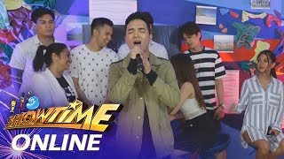 "It's Showtime Online: Sam Mangubat sings ""Clueless"""