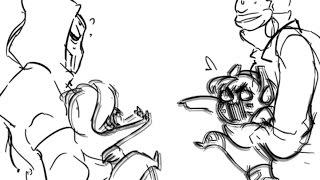 Sombra & Dva meet [ Overwatch Comic]
